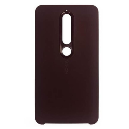 Etui Case CC-505 Soft Touch do Nokia 6.1 czerwone