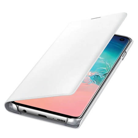 Etui LED View Cover do Samsung Galaxy S10 białe