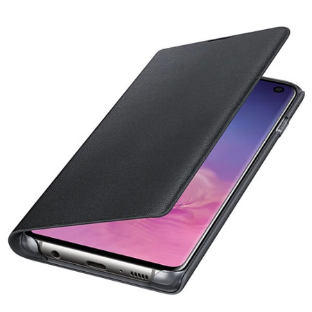 Etui LED View Cover do Samsung Galaxy S10 czarne