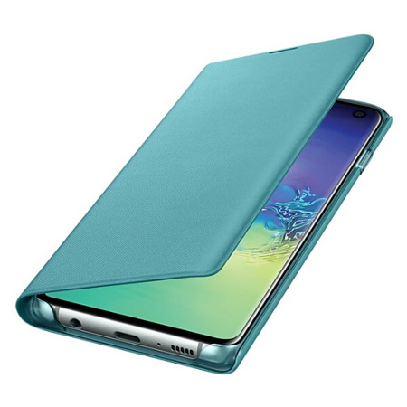 Etui LED View Cover do Samsung Galaxy S10 zielone
