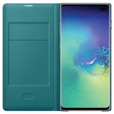 Etui LED View Cover do Samsung Galaxy S10+ zielone