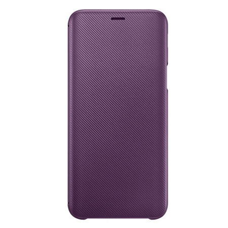 Etui Wallet Cover do Samsung Galaxy J6 fioletowe