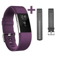 FITBIT opaska Charge 2 z dwoma paskami (L)